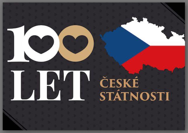 Výsledek obrázku pro 100 let české státnosti